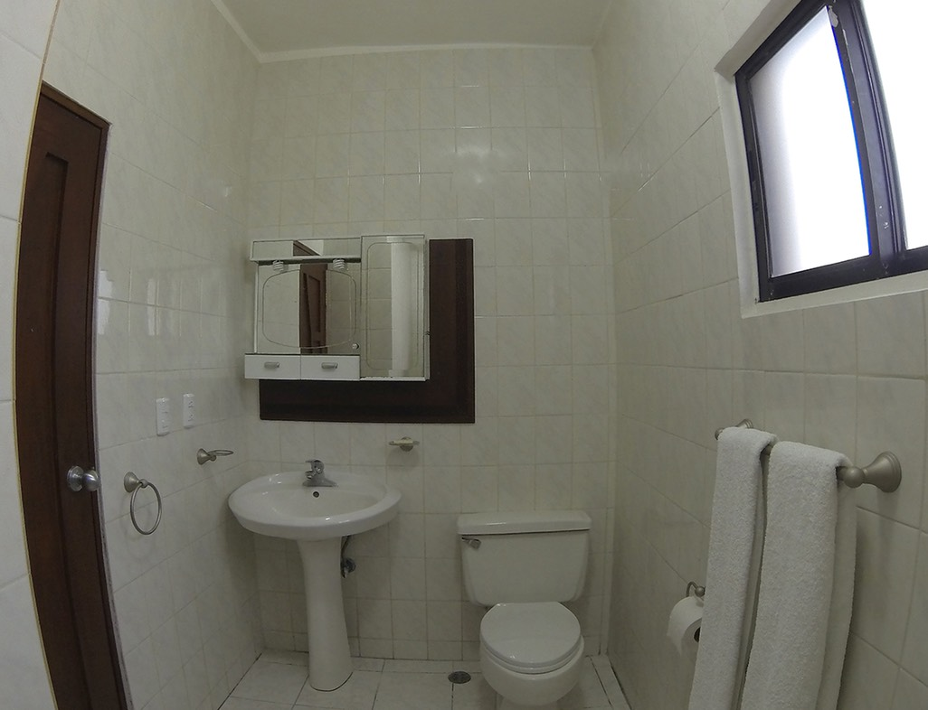 Go-Pro picture of bathroom